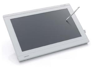 ワコム社製ペンタブレットからの入力も可能です。